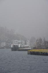 Winter at Flåm Harbour