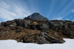 Trollstigen in Romsdal, Norway.