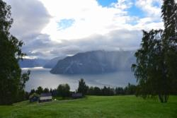 Kaupanger and the Sognefjord.