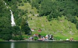 Bakka by the Nærøyfjord.