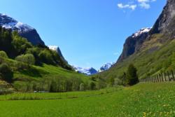 Undredalsdalen Valley in Sogn.