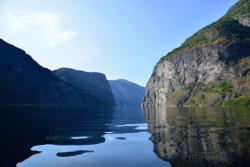 Kajakk på Aurlandsfjorden