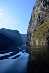Kayaking on the Aurlandsfjord.