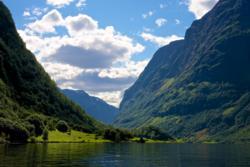 The UNESCO Protected Nærøyfjord.