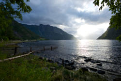 Simafjorden and Eidfjord in Hardanger