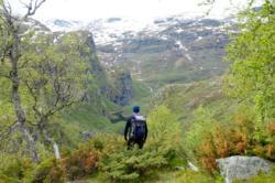 Aurlandsdalen i Aurland