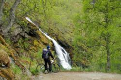 Flåmsdalen, nederste del av Rallarvegen