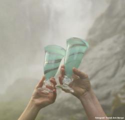 Merete Rein Glass i Aurland
