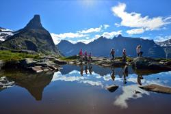 Litlefjellet in Romsdal.