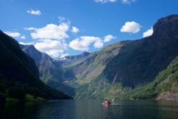 RIB-Boat on the Nærøyfjord
