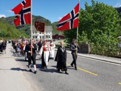 31 17. of May celebration in Granvin. (The Constitution Day)