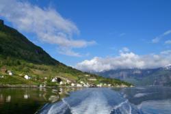 The Hardangerfjord.