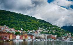 The UNESCO-protected Bryggen in Bergen.