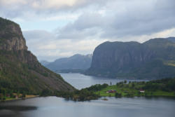 The County of Rogaland.Ryfylke.