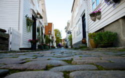 The County of Rogaland.Stavanger, the Old Town.