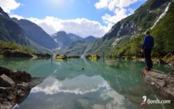 Lake Bondhusvatnet