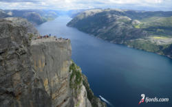 fjords wallpaper55Wallpaper from Preikestolen and the Lysefjord in Ryfylke. Rogaland, Norway. Photo: www.fjords.com