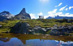 Litlefjellet, Isfjorden