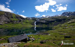 Bakkevatnet, Isfjorden