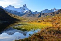 Vengedalen Valley in Isfjorden, Romsdal