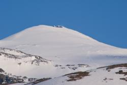Mt. Dyrhaugstind, a great Ski-mountain.