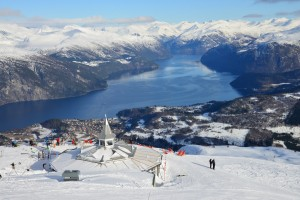 Strands Ski Resort at Storfjord, Sunnmøre.