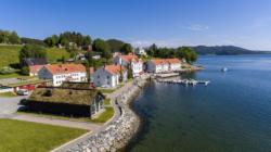 Angvik Gamle Handelssted-Fasade 4-©Classic Norway