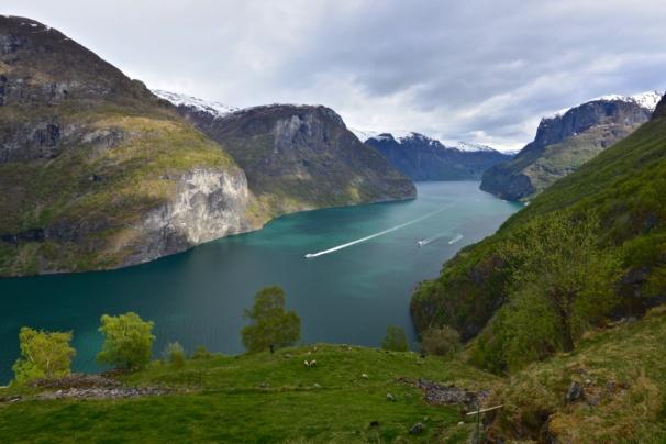 Fjordcruise on the Aurlandsfjord. Sogn og Fjordane, Norway. Photo: www.fjords.com