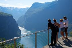 The Geirangerfjord seen from Ørnesvingen Viewpoint. Photo:  www.fjords.com
