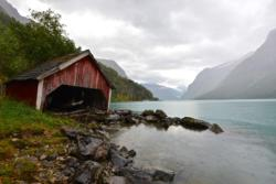 Lake Lovatnet.
