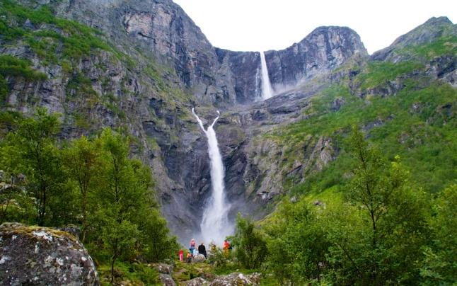 Mardalsfossen Waterfall in Eikesdal. Photo: www.fjords.com
