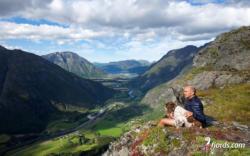 Litlefjellet in Romsdal