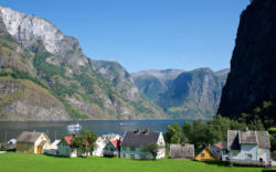Underdal by the Aurlandsfjord