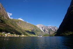 View from Svein´s boat, Bakka in the background.