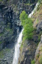 Waterfall above Almen Farm in the Aurlandsdalen Valley. Photo: www.fjords.com