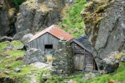 The farm Almen in the Aurlandsdalen Valley. Photo: www.fjords.com