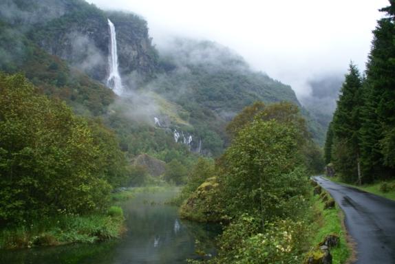 The Flåmsdalen Valley. Photo: www.fjords.com