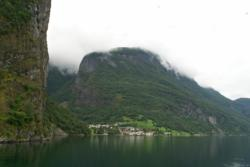 Fjordcruise on the Aurlandsfjord. Passing Undredal. Photo: www.fjords.com