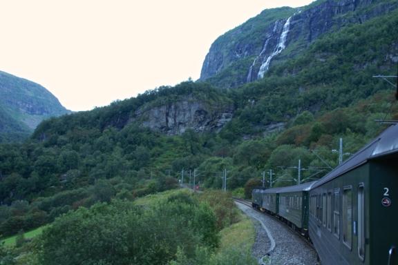 Flåm Railway at Flåmsdalen Valley. Photo: www.fjords.com