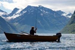 Fjord Fishing on the Hjørundfjord