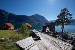 Indre Ofredal and the Sognefjord.