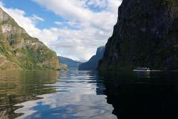 The Aurlandsfjord.