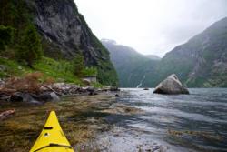 Kayaking the Geirangerfjord