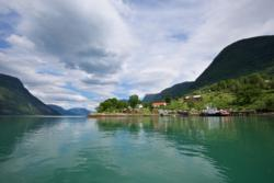 Urnes and the Lustrafjord