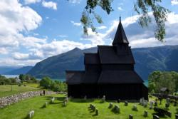 Urnes Stave Church and the Lustrafjord