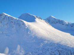 Skiing to Galtåtind 06 Feb 2021.