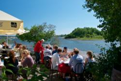 A beautiful summer-day at the small island/restaurant Lille Herbern in the Oslofjord. Open only during summer, read more at www.lilleherbern.no