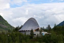 Breheimsenteret (the Glacier Center) in Jostedalen.