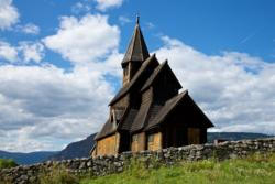 Urnes Stave Church in Luster