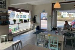 Café Marta på Landet in Isfjorden.
